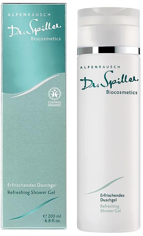 Gel doccia rinfrescante - Dr. Spiller Alpenrausch Refreshing Shower Gel — foto N2