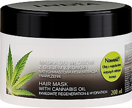 Profumi e cosmetici Maschera capelli con olio di canapa - India