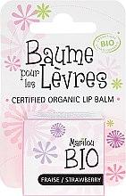 "Profumi e cosmetici Burrocacao "" Fragola"" - Marilou Bio Certified Organic Lip Balm"