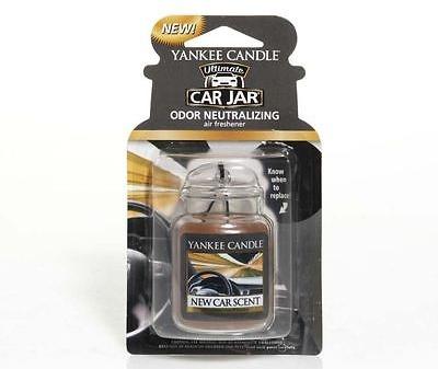 """Profumo per auto """"Aroma dell'automobile"""" - Yankee Candle New Car Scent Jar Ultimate — foto N1"""