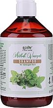 Profumi e cosmetici Shampoo per capelli danneggiati - Eco U Herebal Vinegar Shampoo