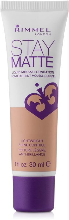 Fondotinta-mousse opacizzante schiuma - Rimmel Stay Matte Liquid Mousse Foundation