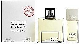 Profumi e cosmetici Loewe Solo Esencial - Set (edt/100ml+ edt/30ml)