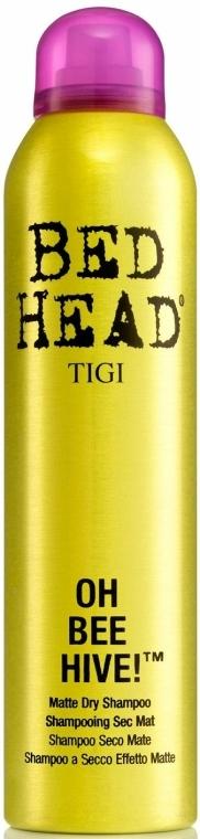 Shampoo secco per il volume dei capelli - Tigi Bee Hive Matte Dry Shampoo