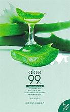 Profumi e cosmetici Maschera in idrogel - Holika Holika Aloe 99% Soothing Gel Jelly Mask Sheet