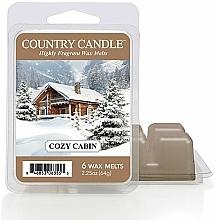 Profumi e cosmetici Cera per lampada aromatica - Country Candle Cozy Cabin Wax Melts