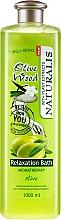 "Profumi e cosmetici Olio da bagno rilassante ""Olive"" - Naturalis Olive Wood Relaxation Bath"
