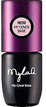 Profumi e cosmetici Base per smalto gel - MylaQ My Cover Base