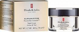 Profumi e cosmetici Crema viso con ceramidi, da notte - Elizabeth Arden Flawless Future Powered by Ceramide Night Cream