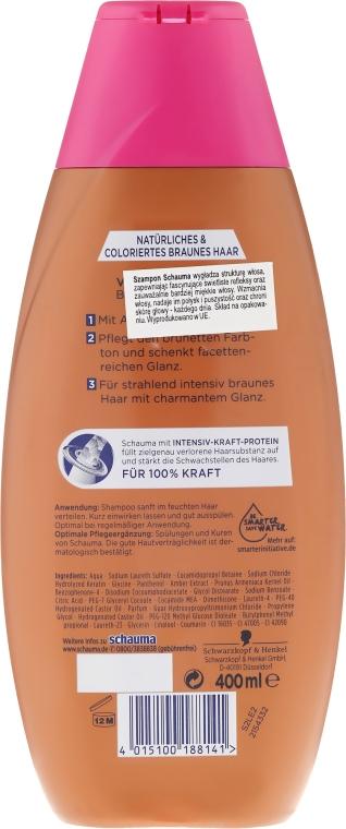 "Shampoo ""Affascinanti brune"" - Schwarzkopf Schauma Braun Shampoo — foto N2"