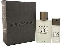 Profumi e cosmetici Giorgio Armani Acqua Di Gio Pour Homme - Set (edt/100ml + edt/15ml)