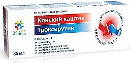 Profumi e cosmetici Gel-balsamo piedi Ippocastano e Troxerutina - Natura Medica