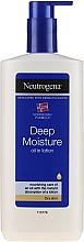 Profumi e cosmetici Lozione corpo profondamente idratante - Neutrogena Deep Moisture Creamy Oil