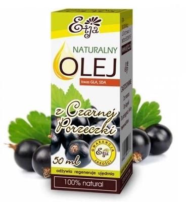 Olio di semi di ribes nero - Etja Natural Oil