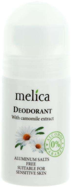 Deodorante all'estratto camomilla - Melica Organic With Camomille Extract Deodorant