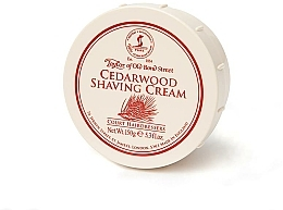 "Profumi e cosmetici Crema da barba ""Cedro"" - Taylor of Old Bond Street Cedarwood Shaving Cream Bowl"