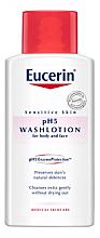 Profumi e cosmetici Lozione detergente pelli sensibili - Eucerin Sensitive Skin pH5 WashLotion