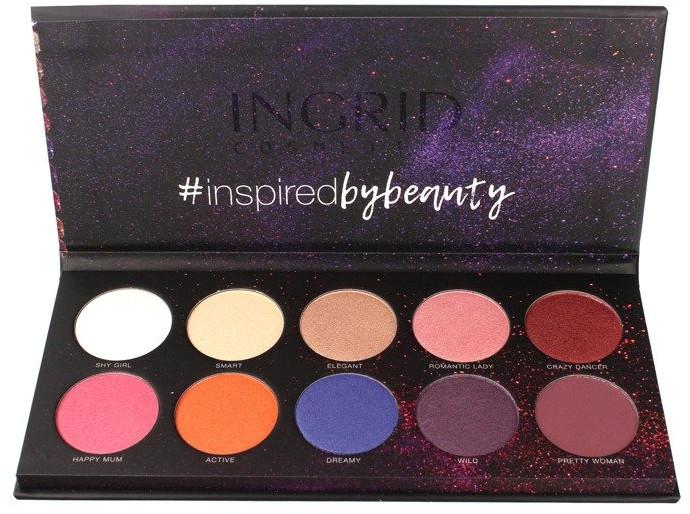 Palette ombretti - Ingrid Cosmetics Colors Matt & Glam Palette