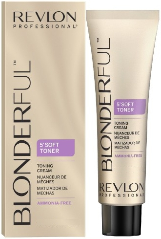 Crema colorante per capelli senza ammoniaca - Revlon Professional Gentle Meches Soft Toner Cream