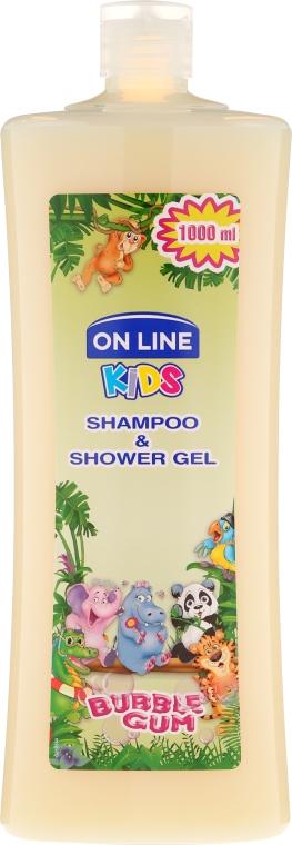 """Shampoo-gel doccia """"Chewing Gum"""" - On Line Kids Shampoo & Body Wash Bubble Gum"""