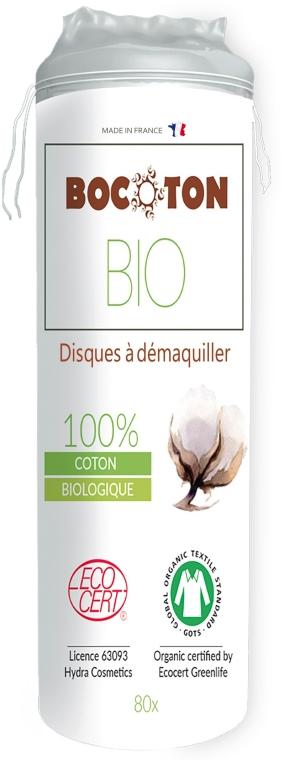 Tamponi di cotone organico, 80 pezzi - Bocoton