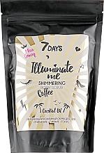 Profumi e cosmetici Scrub corpo scintillante al caffè - 7 Days Illuminate Me Miss Crazy Coffee Shimmering Body Scrub