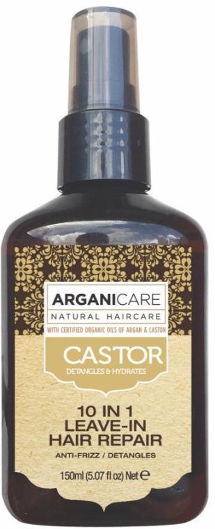 Siero capelli 10 in 1 - Argaincare Castor Oil 10-in-1 Hair Repair