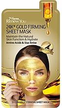 Profumi e cosmetici Maschera in tessuto rassodante, con estratto d'oro - 7th Heaven Renew You 24K Gold Firming Sheet Mask