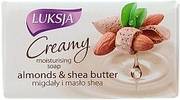 Profumi e cosmetici Sapone-crema con mandorle e burro di karité - Luksja Creamy Almond Shea Butt Soap