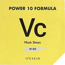 Profumi e cosmetici Maschera in tessuto tonificante - It's Skin Power 10 Formula Mask Sheet VC