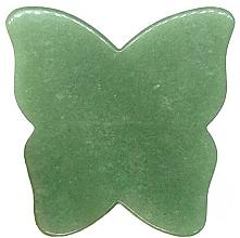 Profumi e cosmetici Massaggiatore viso - Crystallove Butterfly Aventurine Gua Sha