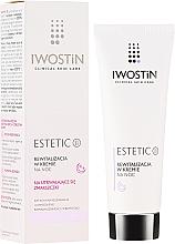 Profumi e cosmetici Crema viso rivitalizzante da notte - Iwostin Estetic 2 Revitalization Night Cream