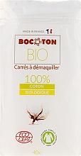 Profumi e cosmetici Dischetti di cotone, 75x75 mm, 40 pezzi - Bocoton