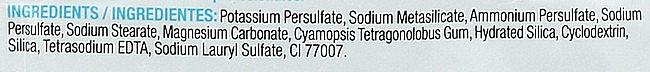 Polvere schiarente, blu - Kosswell Professional Decowell Blond — foto N4