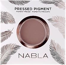 Profumi e cosmetici Ombretto opaco - Nabla Pressed Pigment
