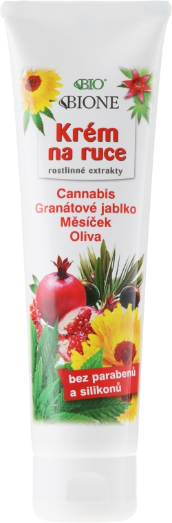 Crema mani - Bione Cosmetics Hand Cream with Plant Extracts