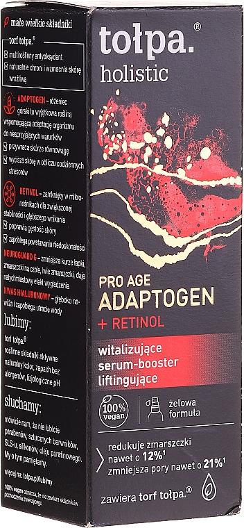 Siero booster revitalizzante - Tolpa Holistic Pro Age Adaptogen + Retinol