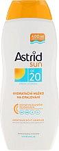 Profumi e cosmetici Latte idratante protezione solare SPF20 - Astrid Sun Moisturizing Suncare Milk