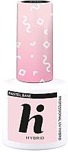 Profumi e cosmetici Top base coat per unghie - Hi Hybrid Pastel Base