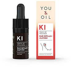 Profumi e cosmetici Miscela di oli essenziali - You & Oil KI-Ear Inflammation Touch Of Welness Essential Oil