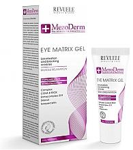 Profumi e cosmetici Gel contorno occhi - Revuele Mezoderm Eye Matrix Gel Eye Contour