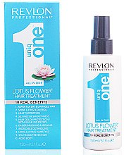 Profumi e cosmetici Maschera-spray per capelli - Revlon Revlon Professional Uniq One Lotus Flower Hair Treatment