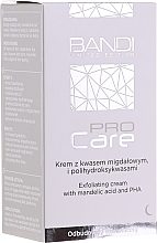 Profumi e cosmetici Crema esfoliante alle mandorle e poliidrossiacido - Bandi Professional Pro Care Exfoliating Cream With Mandelic Acid And Polyhydroxy Acids