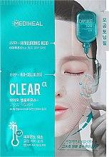 Profumi e cosmetici Maschera in biocellulosa con acido ialuronico - Mediheal Capsule 100 Bio Seconderm Clear Alpha 2 Step Face Mask