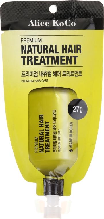 Condizionante naturale per capelli - Alice Koco Premium Natural Hair Treatment