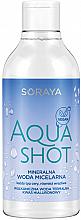 Profumi e cosmetici Acqua micellare minerale per tutti i tipi di pelle - Soraya Aquashot