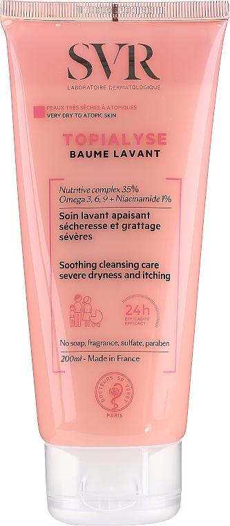 Balsamo detergente per viso e corpo - SVR Topialyse Baume Lavant