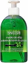 Profumi e cosmetici Sapone per piedi con tendenza a sudare eccessivamente - BingoSpa Feet Soap