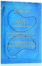 Profumi e cosmetici Maschera-patch contorno occhi - Guerlain Super Aqua-Eye Anti-Puffness Smoothing Eye Patch