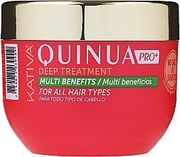 Profumi e cosmetici Maschera per capelli colorati - Kativa Quinua PRO Deep Treatment